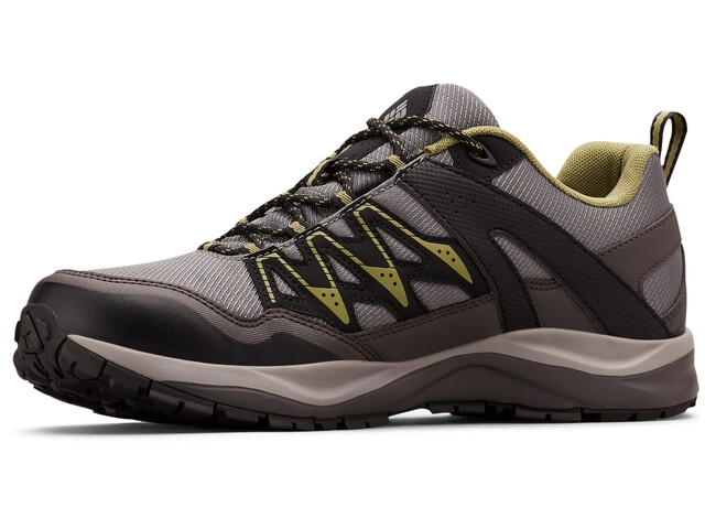 Columbia Wayfinder Outdry Chaussures Homme, ti grey steel/cool moss